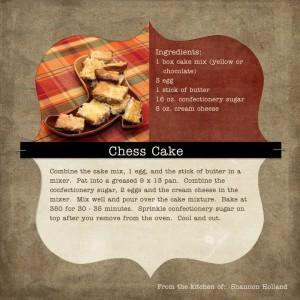 Bake Fish Cake With Cheess