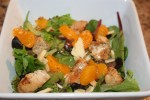 Spring Mix, Mandarin Orange and Cranberry Salad