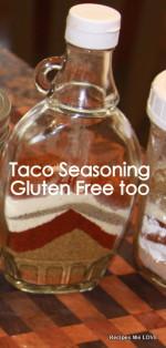 Taco Seasoning (gluten free)