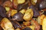 Tri Color Roasted Potatoes