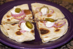 Beef Quesadilla… who needs to go out for good mexican?