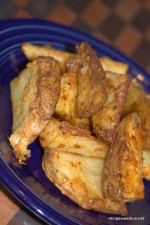 Parmesan Potato Wedges With a Kick
