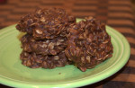 No Bake Cookies (Chocolate Oatmeal Cookies)