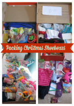 Christmas Shoeboxes