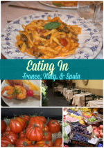 Eating through France, Italy, and Spain